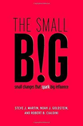 The small BIG: small changes that spark big influence Cover