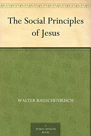 The Social Principles of Jesus Cover