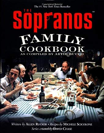 The Sopranos Family Cookbook: As Compiled by Artie Bucco Cover