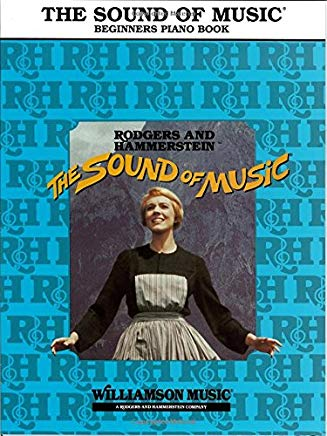 The Sound Of Music Beginner's Piano Book Cover