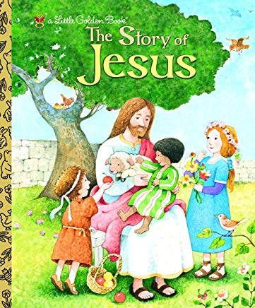 The Story of Jesus (Little Golden Book) Cover