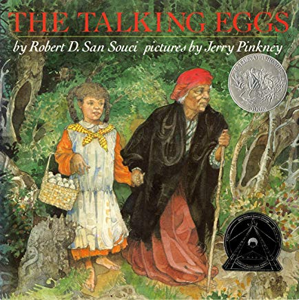 The Talking Eggs Cover