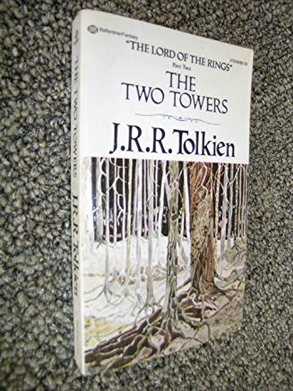 The Two Towers - Part Two of The Lord of the Rings Cover