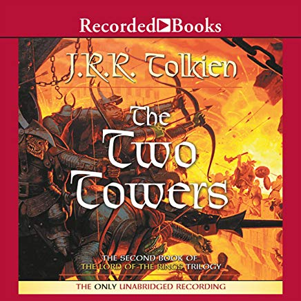 The Two Towers: Book Two in the Lord of the Rings Trilogy Cover