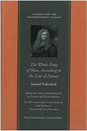 The Whole Duty of Man, According to the Law of Nature (Natural Law Paper) Cover