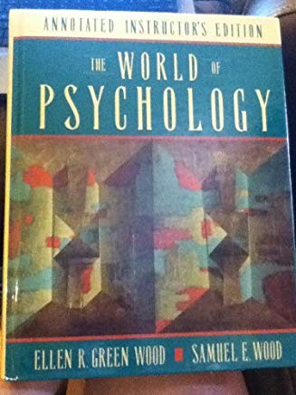 The world of psychology Cover