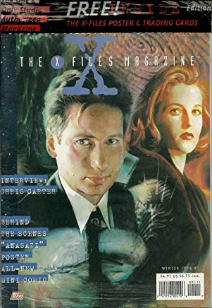 The X-Files magazine ~ Winter 1996 #1 ~**Deluxe Official Collector's Edition Cover