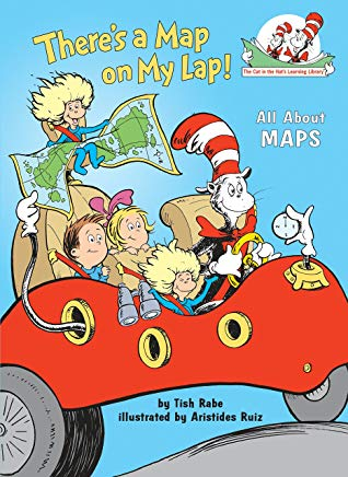 There's a Map on My Lap!: All About Maps (Cat in the Hat's Learning Library) Cover