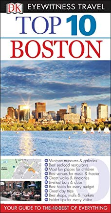 Top 10 Boston (Eyewitness Top 10 Travel Guide) Cover