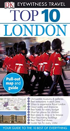 Top 10 London (Eyewitness Top 10 Travel Guides) Cover