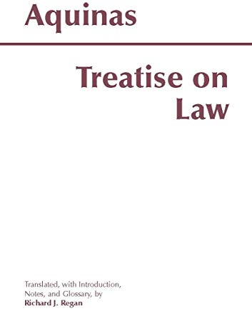 Treatise on Law (Hackett Classics) Cover