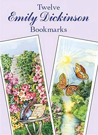Twelve Emily Dickinson Bookmarks (Dover Bookmarks) Cover