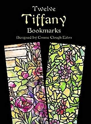 Twelve Tiffany Bookmarks (Dover Bookmarks) Cover
