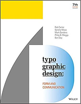 Typographic Design: Form and Communication Cover