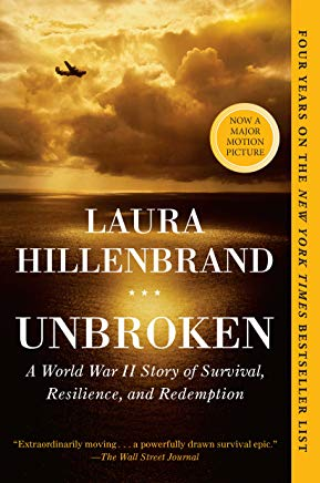 Unbroken: A World War II Story of Survival, Resilience, and Redemption Cover