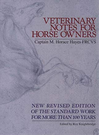 Veterinary Notes for Horse Owners Cover