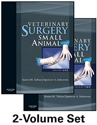 Veterinary Surgery: Small Animal: 2-Volume Set Cover