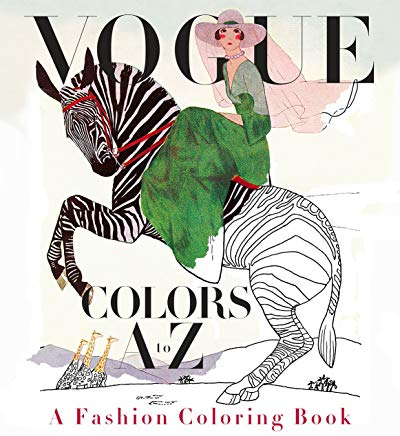 Vogue Colors A to Z: A Fashion Coloring Book Cover
