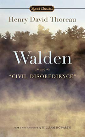 Walden and Civil Disobedience Cover