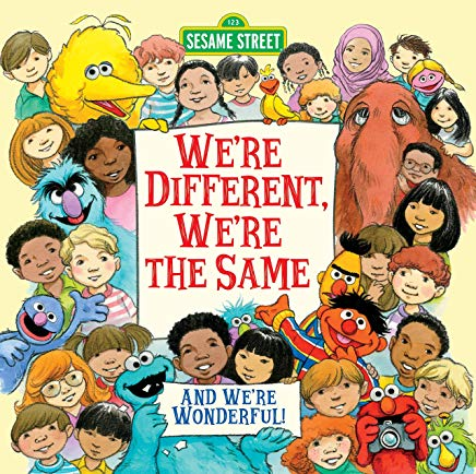 We're Different, We're the Same (Sesame Street) Cover