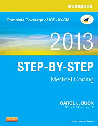 Workbook for Step-by-Step Medical Coding, 2013 Edition Cover