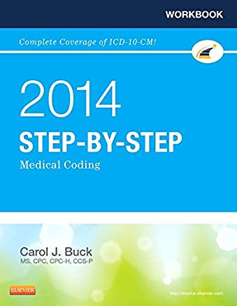 Workbook for Step-by-Step Medical Coding, 2014 Edition Cover