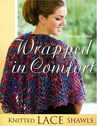 Wrapped in Comfort: Knitted Lace Shawls Cover