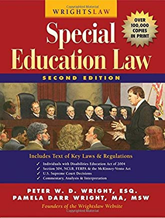 Wrightslaw: Special Education Law, 2nd Edition Cover