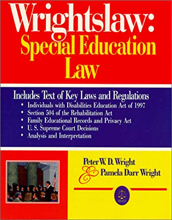 Wrightslaw: Special Education Law Cover